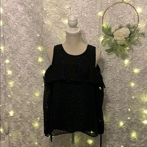 Cato 3/4 sleeve cold shoulder dress too, Small